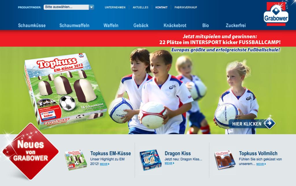 Referenz Gewinnspiel INTERSPORT Fussballcamp Internetagentur Kreado